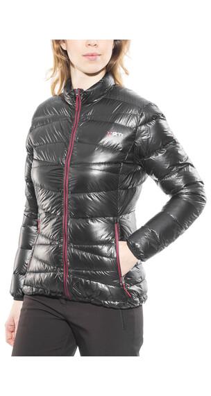 Yeti Cirrus Ultralight Down Jacket Women Black/Ribbon Red
